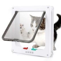 Large Cat/Small Dog 4-Way Self Lining Door Cat Flap Door S/M/L - $14.84+