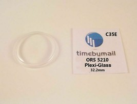 For ORIS 5210 Plexi-Glass Watch Crystal 32.2mm Replacement New Spare Part C35E - $18.58