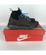 Nike Zoom Talaria Medio Flyknit Marrone Gamma Blu Uomo Taglia 10 856957 200 - $87.83