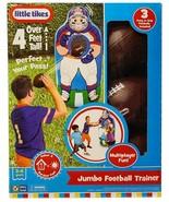 New Little Tikes Inflatable Jumbo Football Trainer - $49.45