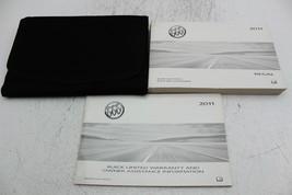 11 Buick Regal Vehicle Owners Manual Handbook Guide Set - $36.71