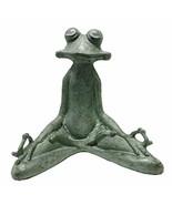 SPI Home 50793 Contented Yoga Frog Garden Sculpture - $104.71