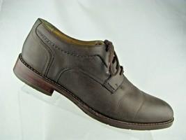 Men's Johnston & Murphy Garner Plain Toe Size 9 M Brown MSRP $159 20-181... - $49.49