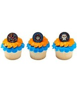 COCO MOVIE Party CUPCAKE Toppers Birthday Decoration Rings Favors Treats... - $7.87