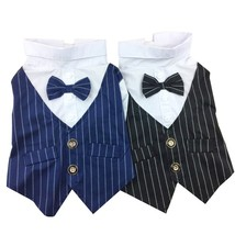Formal Dog Clothing For Dogs Puppy Pet Clothes Male Dog Wedding Suit Pet... - $576,59 MXN