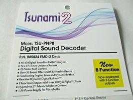 Soundtraxx 885824 Tsunami 2 TSU-PNP8 Sound Decoder EMD-2 Diesel 8 Function image 3