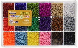 Giant Crayon Bead Box - approximately 2300 beads - $21.40