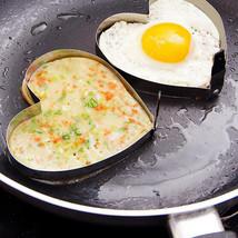 DanZeYu 2pcs/lot stainless steel egg tool design heart - $21.13 CAD