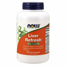 Now Supplements, Liver Refresh With Milk Thistle Extract And Unique Herb... - $24.74