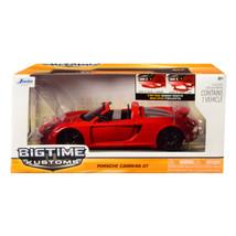 2005 Porsche Carrera GT Red 1/24 Diecast Model Car by Jada 96955r - $30.60