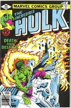 The Incredible Hulk Comic Book #243 Marvel Comics 1980 VERY FINE+ - $4.75