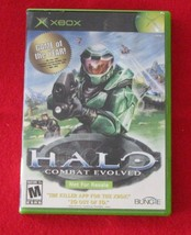 Halo: Combat Evolved (Microsoft Xbox, 2002) in Not for Resale Case - $6.92