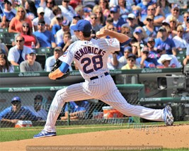 Professor Chicago Cubs Kyle Hendricks Pitcher Original Game Pic Dartmouth NEW - $3.99+