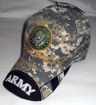 United States Army OFFICIALLY LICENSED Embroidered With Seal Baseball Ca... - $12.95