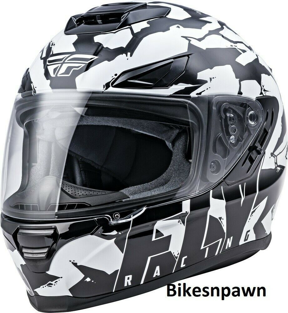 L Fly Racing Sentinel Ambush Motorcycle Helmet Camo/Black/White DOT & ECE