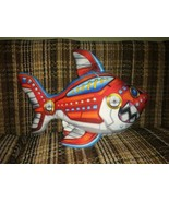 """Rinco Robot Mechanical Fish Plush 16"""" Stuffed Animal All Ages Made In China - $15.84"""