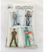 Simplicity 8890 Adult 42 44 Spaceman Doctor Nurse Soldier Army Costume U... - $34.88