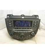 03-07 Honda Accord XM Radio 6 Disc Cd & Theft Code 39175-SDA-L120 7BK2 T... - $148.50