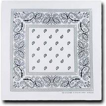 """12 Pack Premium Cotton Head Wrap Scarf Bandana Multiple Colors 22"""" X 22"""" image 2"""