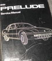 1991 Honda Prelude Service Shop Workshop Repair Manual New - $98.99