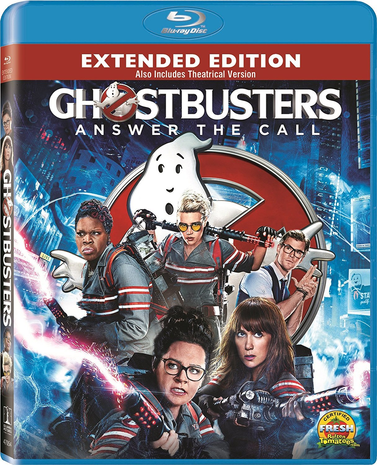 Ghostbusters: Extended Edition (Blu-ray Disc, 2016)