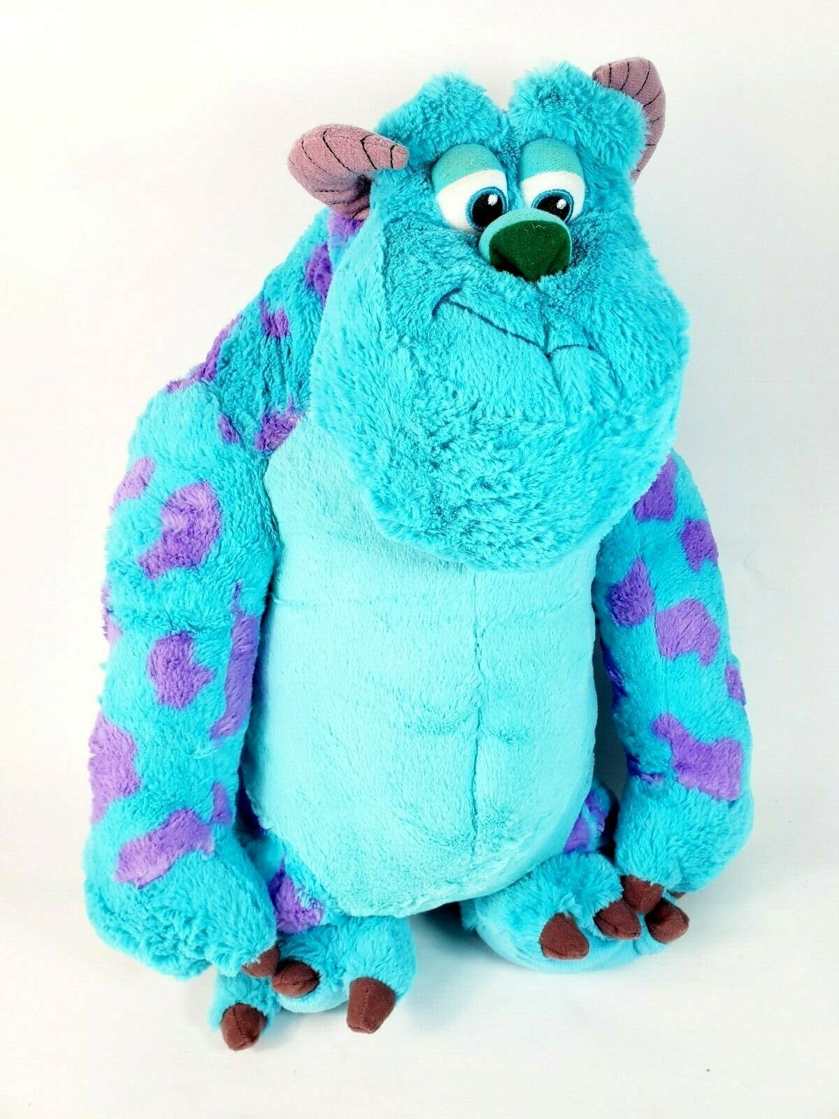 "Primary image for Disney Parks flips mike wazowski/ Sulley 2 n 1 REVERSIBLE PLUSH 23"" MONSTERS INC"