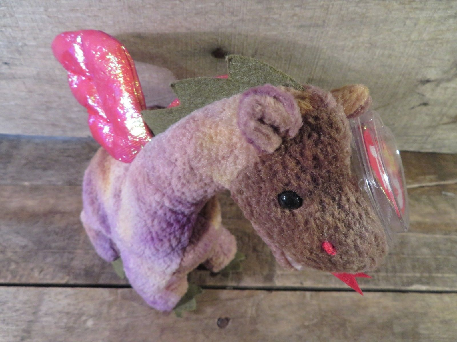 40daa14cdd9 Scorch Dragon Ty Beanie Baby Tag Protector and 50 similar items. 57