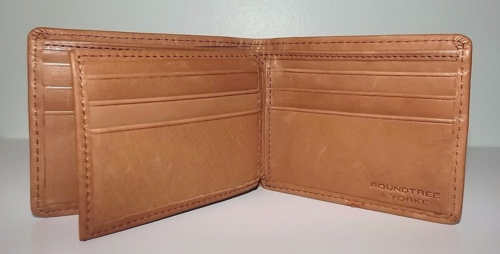90a179212c93 New Roundtree & Yorke Men's Leather Rfid and 50 similar items