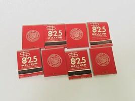 Set 8 Partially Used & New Harvard Club of Boston Match Books 82.5 Mil P... - $34.65