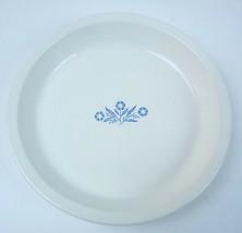 "Corning Ware Blue Cornflower Oven & Microwave 9"" Pie Plate / Baking Dish P-309 - $10.39"