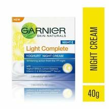 Garnier Skin Naturals Light Complete Night Cream, 40 Gram -Nourishes skin  - $12.87