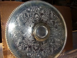 "12""Silver Coated Platter - $9.90"