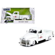 1953 Chevrolet 3100 Pickup Truck White Custom Shop Classic Truck (Las Ve... - $30.60