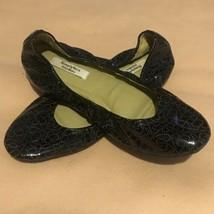 Simply Vera - Vera Wang Black Flats Shoes Slip On Ballet Size 8.5 - $18.81