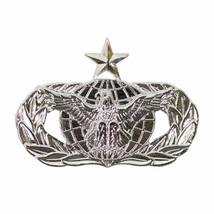 Mid Size Genuine U.S. Air Force (Usaf) Breast Badge: Force Protection: Senior - $15.82