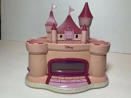 Disney Princess Pink Castle Alarm AM/FM Clock Radio Projected Stars P300ACR - $24.99