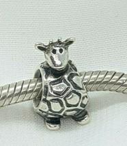 Authentic Pandora Giraffe Safari Zoo Animal Charm 790274 Sterling Silver... - $25.99