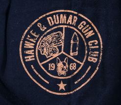 Hawke & Dumar Nero Marrone Hdc Pistola Club Surplus T-Shirt Nwt image 3