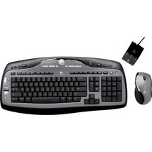 Logitech Cordless Desktop MX 3000 Laser Mouse and Keyboard Set - $4.309,89 MXN