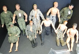 "Eleven Vintage 12"" GI Joes Action Figures & Many Accessories - $379.99"
