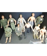"""Eleven Vintage 12"""" GI Joes Action Figures & Many Accessories - $379.99"""