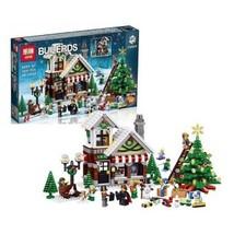 Lepin 36002 Christmas Hut Winter Toy Store Creators Block Set (1005Pcs) - $58.00