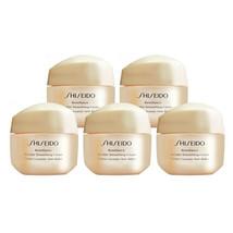 SHISEIDO Benefiance Wrinkle Smoothing Cream 15ml x 5 = 75ml Ginza Tokyo ... - $59.99