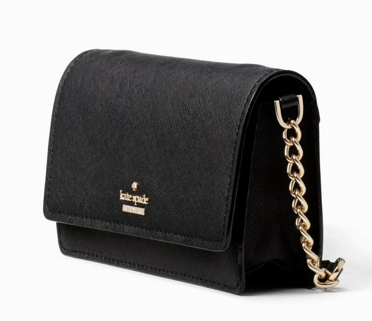 Kate Spade cameron street shreya Wallet Clutch Crossbody ~Black~ NWT $158