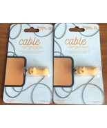 Set of 2 Gabba Goods Cable Companions - Fits Most Cables - Prolongs Cabl... - $6.83