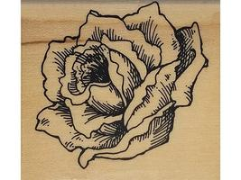 Stampendous-Wood Mounted Rubber Stamp-Victoria Rose-D64