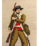 Dritz Vintage Luxury Needlepoint Canvas Wall Hanging, Historical Theme T... - $44.99