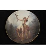 DELIVERANCE collector plate CHUCK REN Mystic Warriors NATIVE horse - $19.99