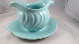 Franciscan Aqua BLue ~ Coronada of California ~ Sauce Gravy Boat wUnderp... - $11.88