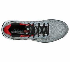 Skechers Gray shoes Men Memory Foam Walk Train Sport Comfort Casual Woven 52758 image 4